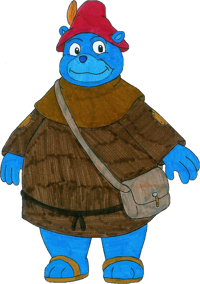 772x1096 Tummi The Blue Gummi Bear By Mcsaurus