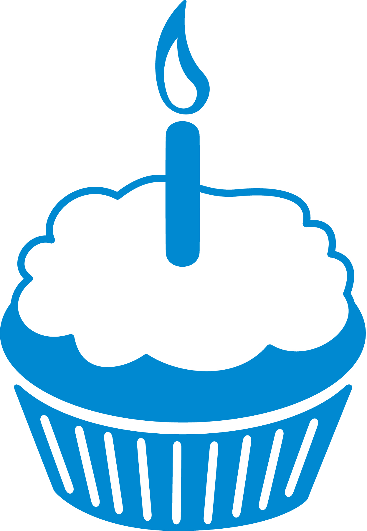 Blue Birthday Cake Clipart | Free download on ClipArtMag