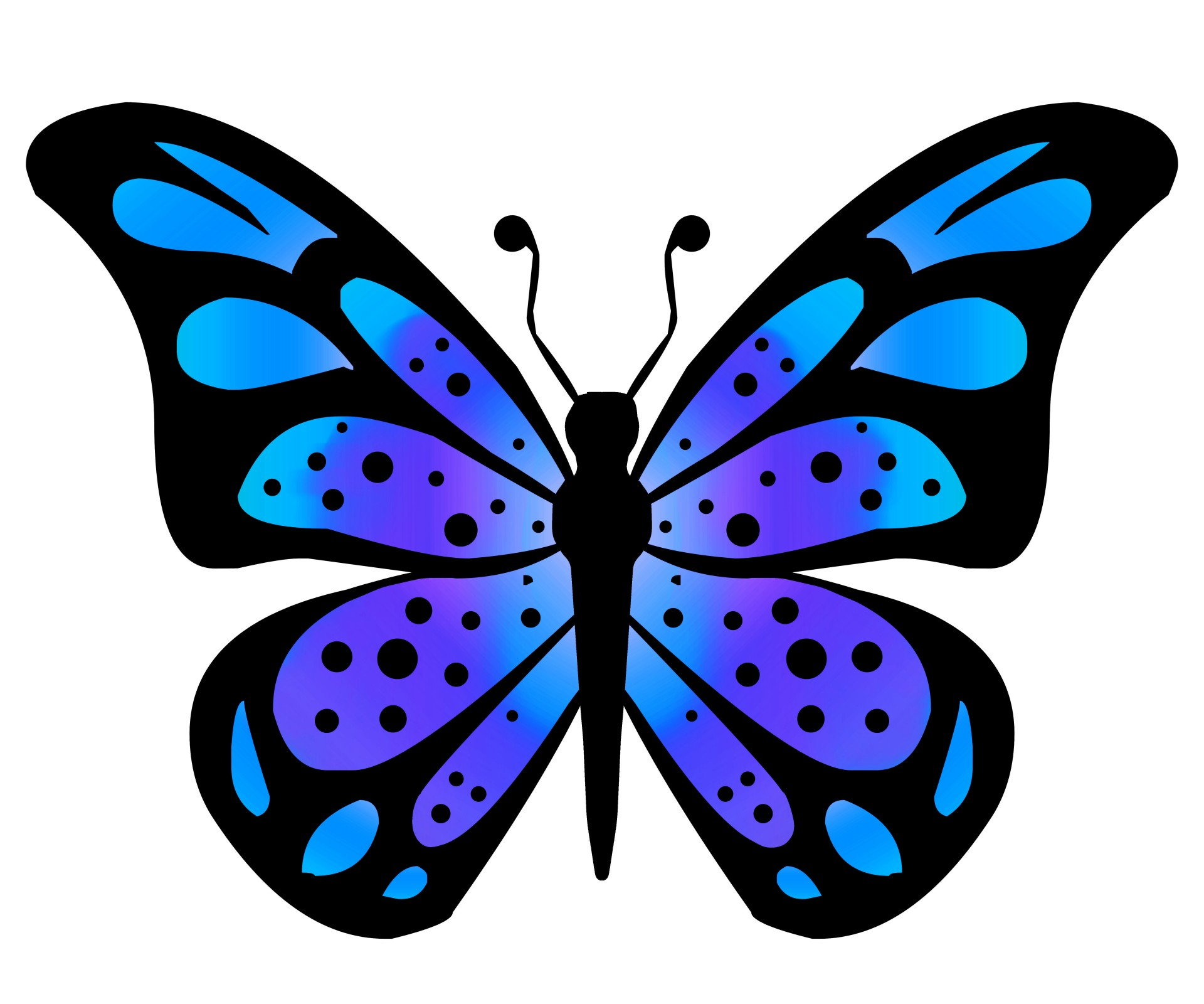 Blue Butterfly Images Clipart Free Download Best Blue Butterfly