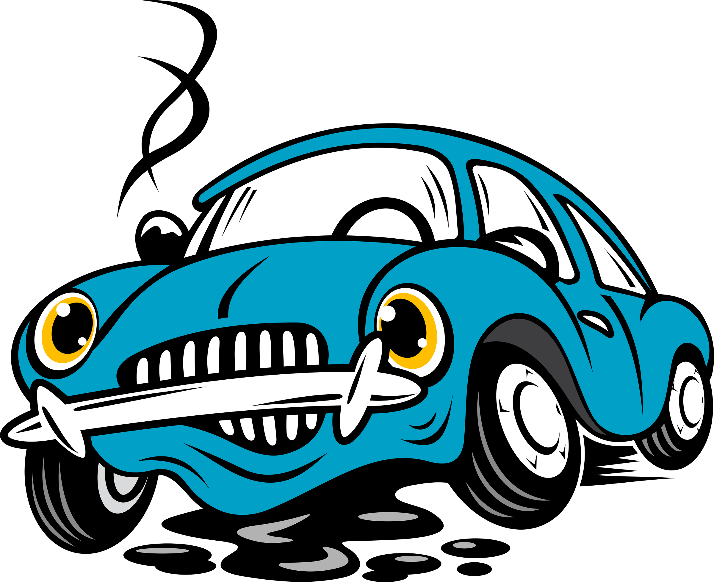 2400x1956 Blue Car Clipart Car Smoke
