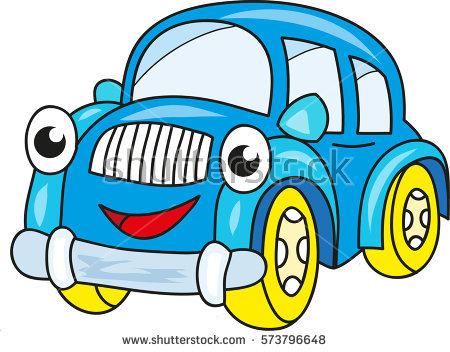 450x352 Blue Car Clipart Funny Car