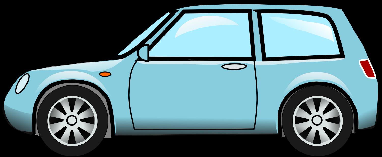 1500x617 Blue Car Clipart Transparent Car