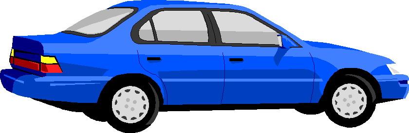 840x274 Blue Car Clipart Vehicle