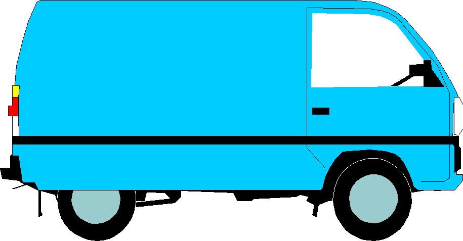 915x477 Blue Car Clipart Blue Van