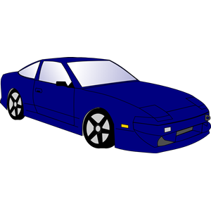 300x300 Blue Car Clipart, Cliparts Of Blue Car Free Download (Wmf, Eps