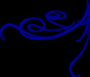 300x258 Corner Blue Clip Art