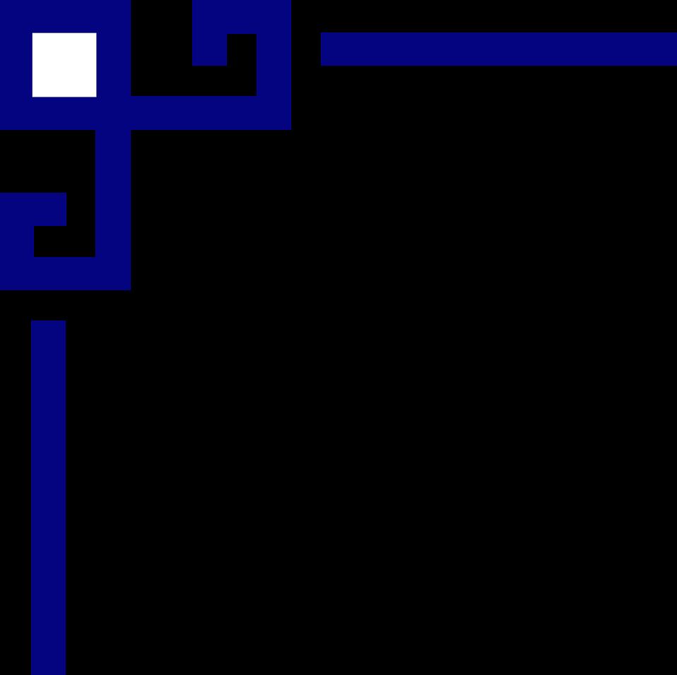 958x956 Corner Upper Left Free Stock Photo Illustration Of A Blue