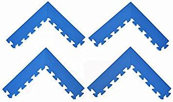 355x209 Set Of 4 (Pair) Beveled Corner Edges For Interlocking