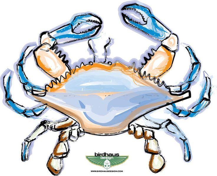 Blue Crab Clipart