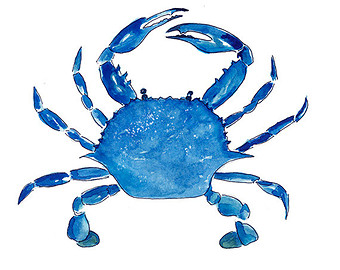 Blue Crab Clipart | Free download on ClipArtMag