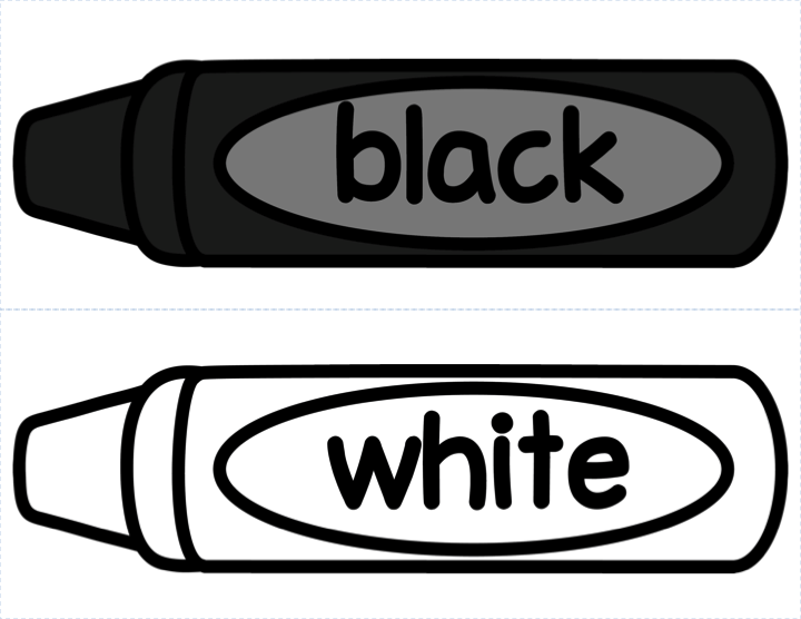 720x556 Crayon Clipart Color White