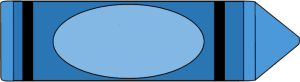 300x82 Blue Crayon Clip Art