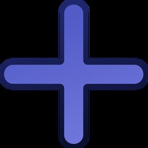 Blue Cross Clipart
