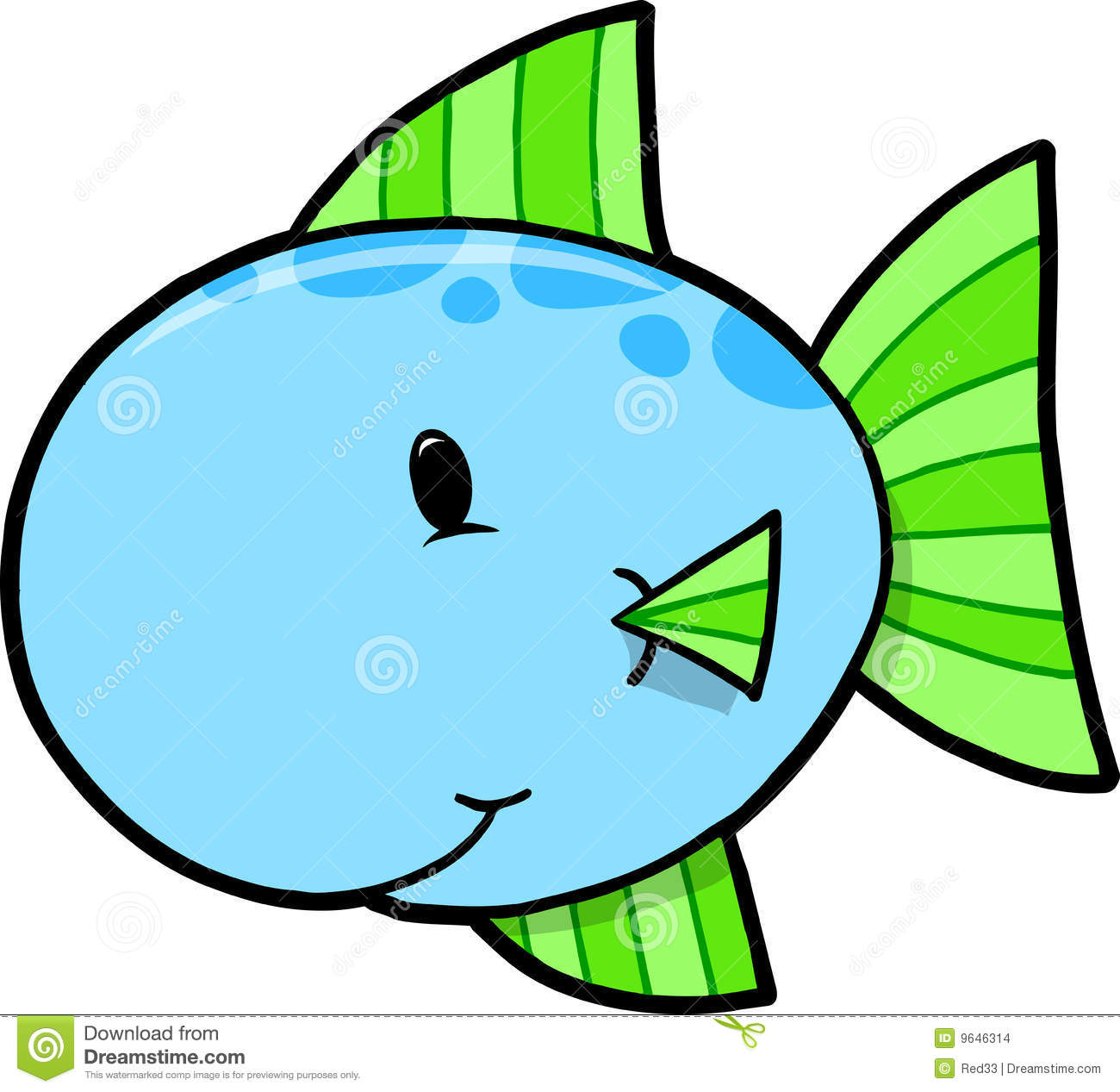 1300x1267 Fish Clipart Blue And Green