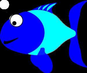 300x252 Blue Fish Clip Art Free Clipart Images 3