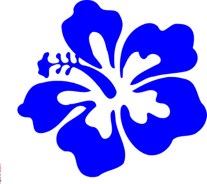 722x640 Hawaiian Flowers Clip Art