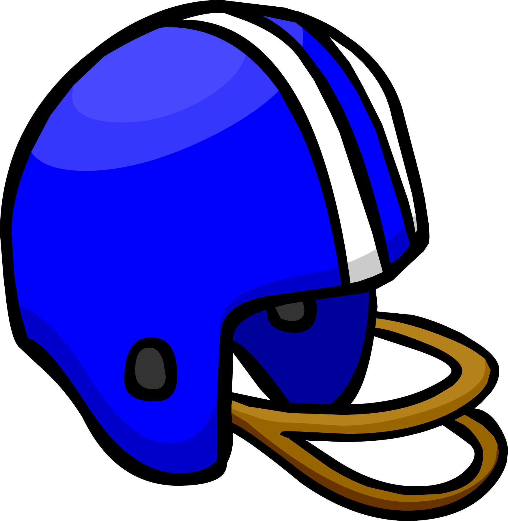 1760x1804 Blue Football Helmet Club Penguin Wiki Fandom Powered By Wikia