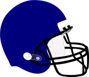 298x258 Blue Football Helmet Clip Art