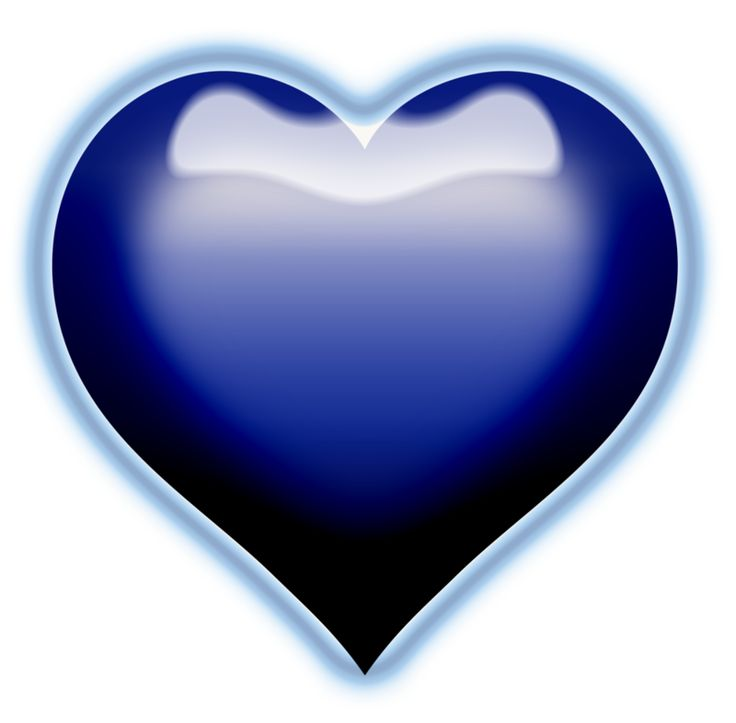 Blue Heart Clipart | Free download on ClipArtMag