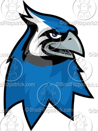 324x432 Cartoon Blue Jay Clip Art Blue Jay Logo Graphics Clipart Blue