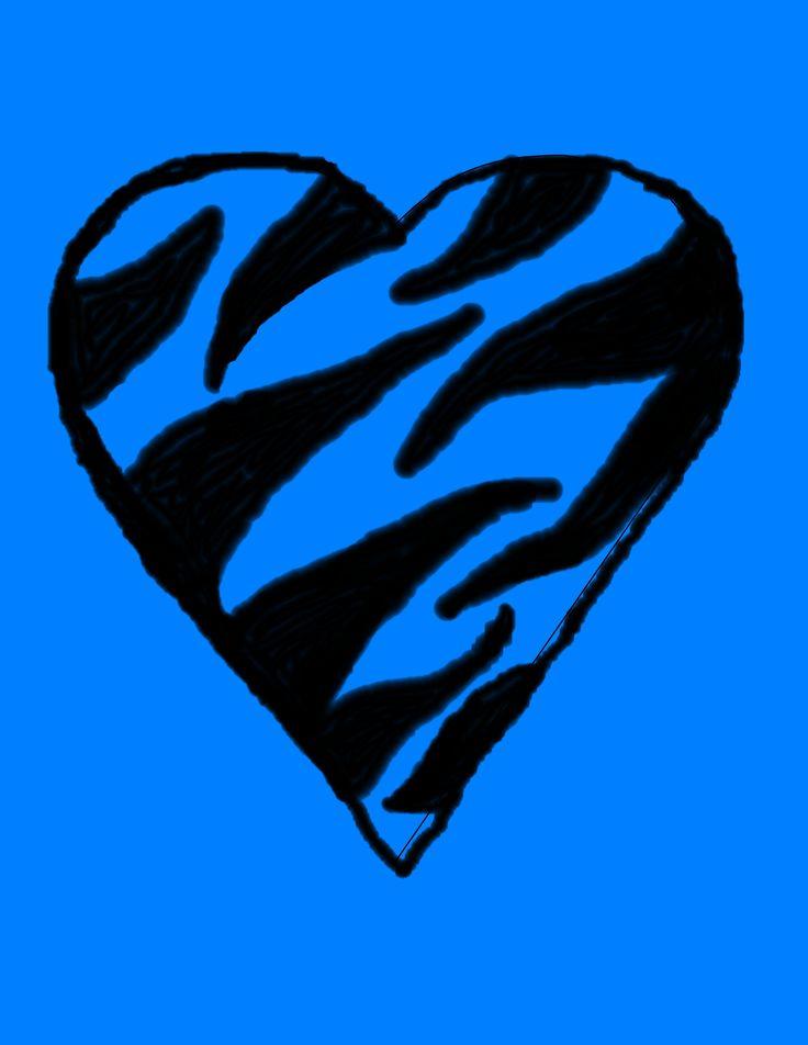 Blue Megaphone Clipart