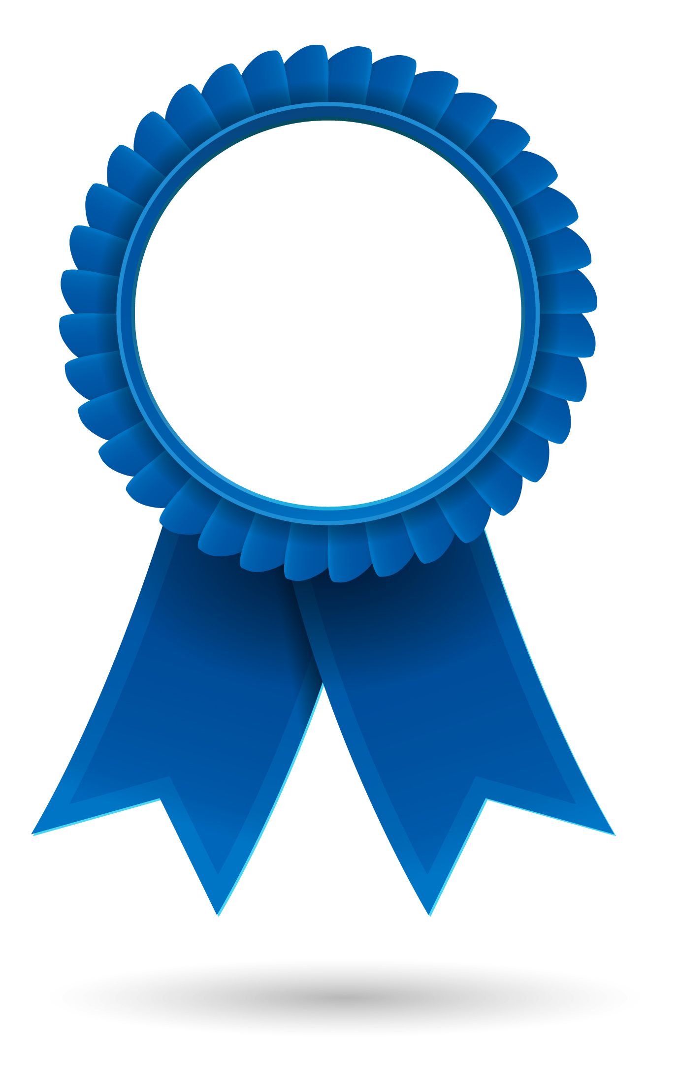 1st prize ribbon template - blue ribbon clipart free download best blue ribbon