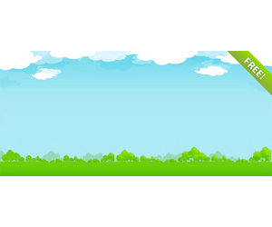 300x250 Background Clipart Sky