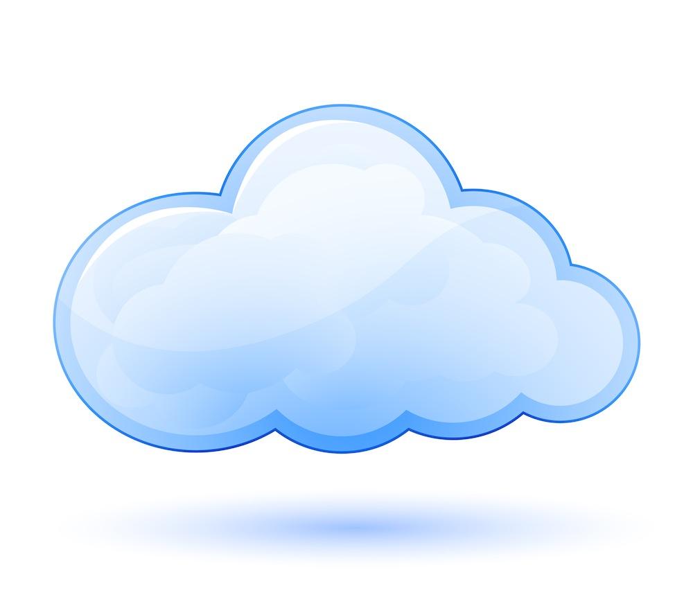1000x865 Cloud clip art blue free clipart image