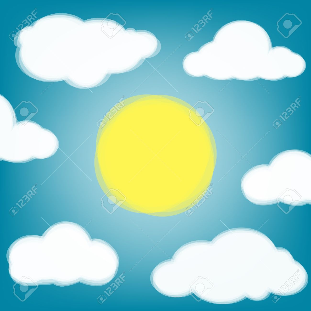 1300x1300 Outside Clipart Sky Background