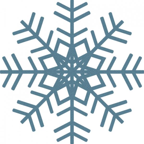 Blue Snowflakes Clipart