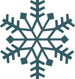 286x300 Free Snowflake Clipart