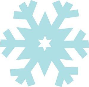 300x295 Free Snowflake Clipart Image Clipart Panda