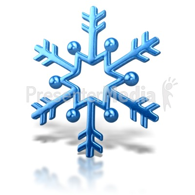 400x400 Moving Clipart Snowflake