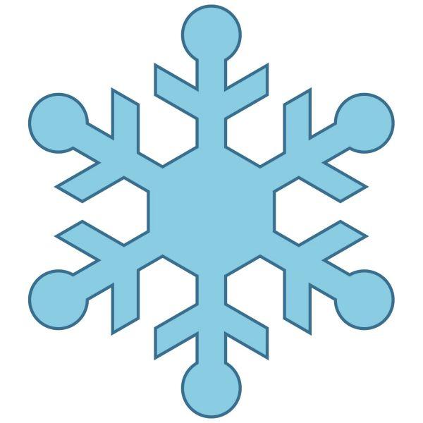 600x600 Snowflakes Clipart Nice Clip Art