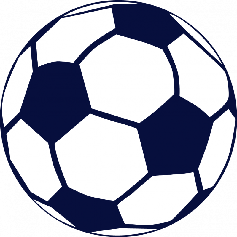 799x800 Blue Soccer Ball Clipart Free Images 2