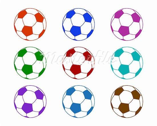 550x440 Neon clipart soccer ball