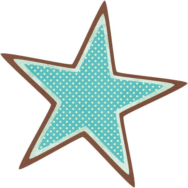 Blue Starfish Clipart