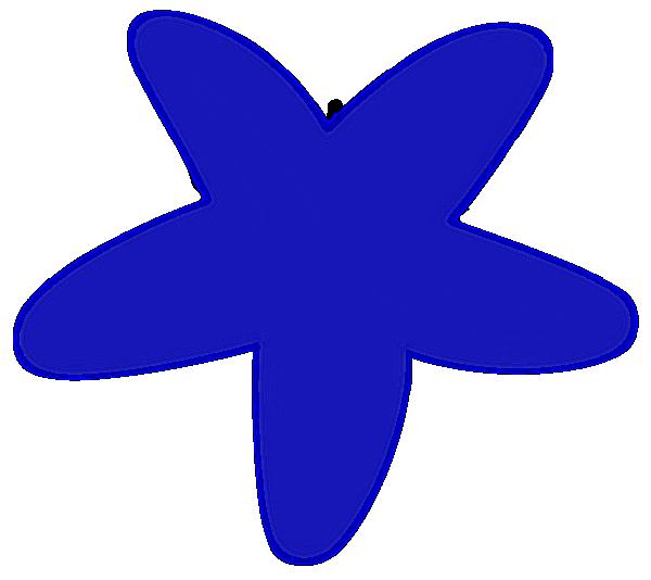 600x534 Blue Starfish Clip Art Clipart Panda