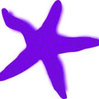 200x200 Blue Starfish Clipart