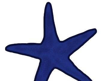 340x270 Blue Starfish Clipart Clipart Panda