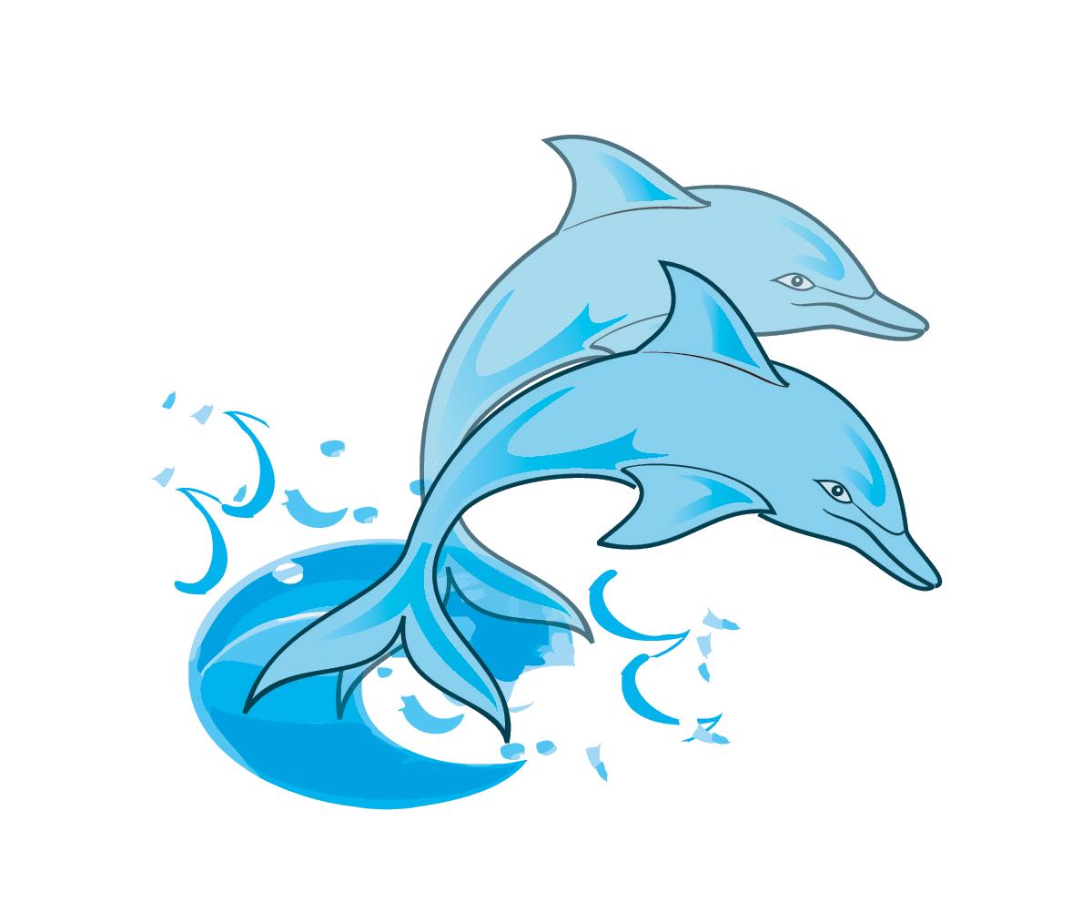1200x1002 Bottlenose Dolphin Clipart Blue Starfish