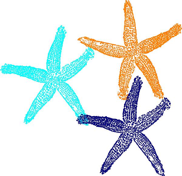 600x580 Starfish Clip Art