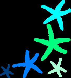 273x298 Starfish Prints Clip Art