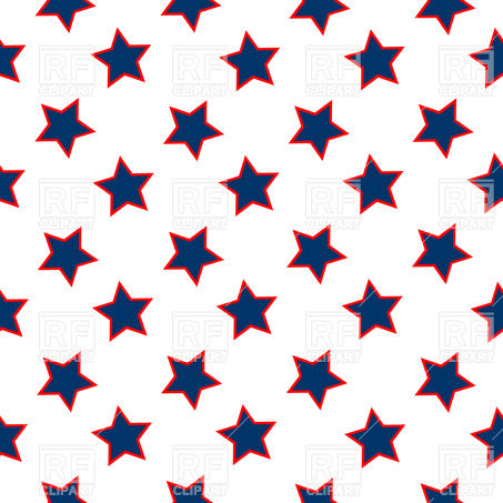 453x453 Blue Stars Seamless Background Royalty Free Vector Clip Art Image