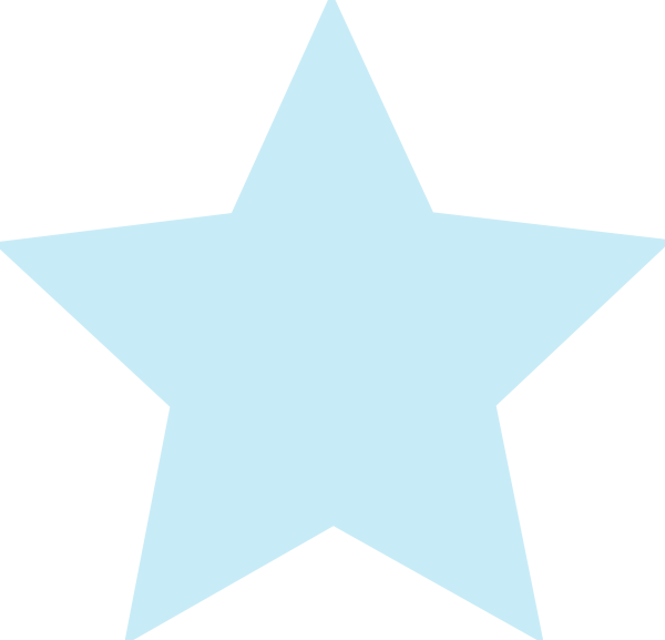 600x577 Stars Clipart Baby Blue