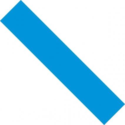 425x425 Blue Line Clipart