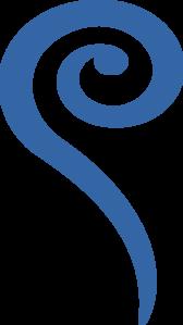 168x299 Big Blue Swirl Png, Svg Clip Art For Web