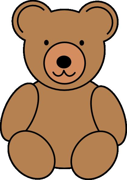 420x597 Blue Teddy Bear Clipart