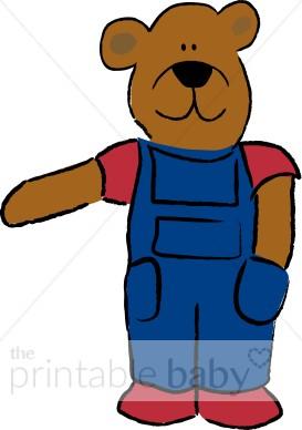 273x388 Farmer Bear Clipart Teddy Bear Baby Clipart