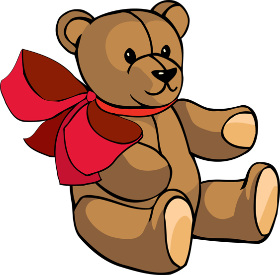 563x554 Free Clipart Teddy Bears